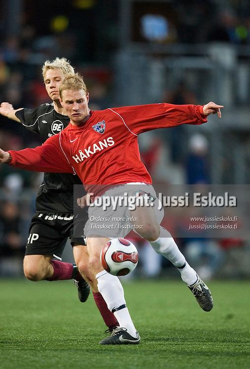 Miikka Ilo. FC Lahti - Inter, liigacupin finaali, Finnair Stadium, Helsinki 13.4.2007. Photo: Jussi Eskola