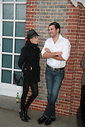 Nathalie Hambro and Christian Albu, Allora & Calzadilla: Clamor - private view. Serpentine Gallery. 17 April 2007.  -DO NOT ARCHIVE-© Copyright Photograph by Dafydd Jones. 248 Clapham Rd. London SW9 0PZ. Tel 0207 820 0771. www.dafjones.com.