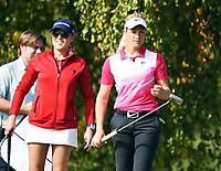 Golf , 6. september 2014,  Natalie Gulbis , og Suzann Pettersen , Norge<br /> LPGA spiller