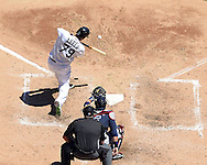 CHICAGO - JULY 09:  Jose Abreu #79 of the Chicago White Sox bats against the Atlanta Braves on July 9, 2016 at U.S. Cellular Field in Chicago, Illinois.  The White Sox defeated the Braves 5-4.  (Photo by Ron Vesely) Subject:    Jose Abreu