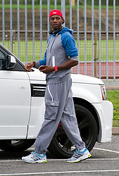 © London News Pictures. File pic dated 04/08/2012. Olympic triple jump Athlete Phillips Idowu arriving for training at White Hart Lane Community Sports Centre in Wood Green, North London on August 4, 2012 ahead of competing in the London 2012 Olympic Games. Former world champion Phillips Idowu is one of a number of high-profile GB athletes to lose their lottery funding for 2013-14. Photo Credit: Ben Cawthra/LNP