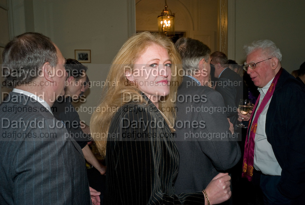 LAURA SANDYS, Vanity Fair, Baroness Helena Kennedy QC and Henry Porter launch ' The Convention on Modern Liberty'. The Foreign Press Association. Carlton House Terrace. London. 15 January 2009 *** Local Caption *** -DO NOT ARCHIVE-© Copyright Photograph by Dafydd Jones. 248 Clapham Rd. London SW9 0PZ. Tel 0207 820 0771. www.dafjones.com.<br /> LAURA SANDYS, Vanity Fair, Baroness Helena Kennedy QC and Henry Porter launch ' The Convention on Modern Liberty'. The Foreign Press Association. Carlton House Terrace. London. 15 January 2009