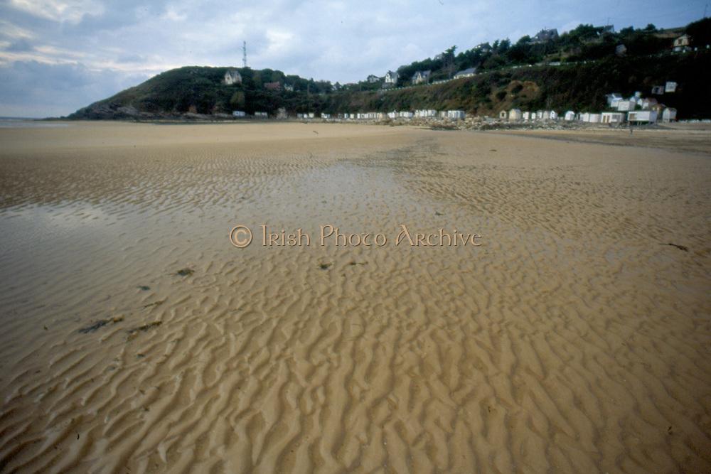 France, Normandy.  Carteret/Barnville.  Beach.