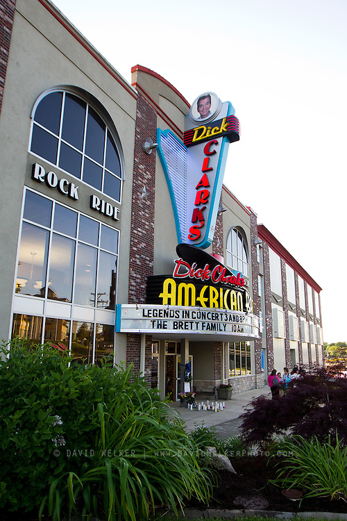 BRANSON, MO - APRIL 18: A general view of Dick Clark's American Bandstand Theater prior to a candlelight vigil and performance in honor of Dick Clark on April 18, 2012 in Branson, Missouri.  (Photo by David Welker/Getty Images)*** Local Caption ***