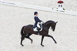 Telde Mina, (SWE), Santana - Grand Prix Team Competition Dressage - Alltech FEI World Equestrian Games™ 2014 - Normandy, France.<br /> © Hippo Foto Team - Leanjo de Koster<br /> 25/06/14