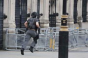 UNITED KINGDOM, London: 22 March 2017 Suspected terror attack outside the Houses of Parliament in Westminster, London. Rick Findler / Story Picture Agency