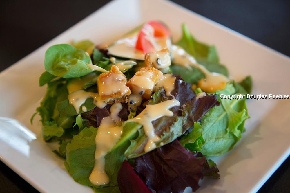 Green salad, Sitka, Alaska