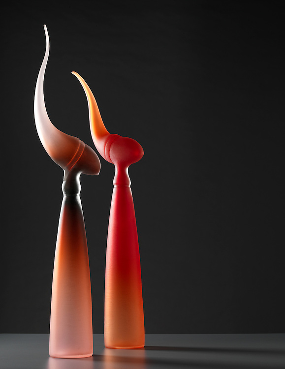 Glass artwork by Andrew Baldwin