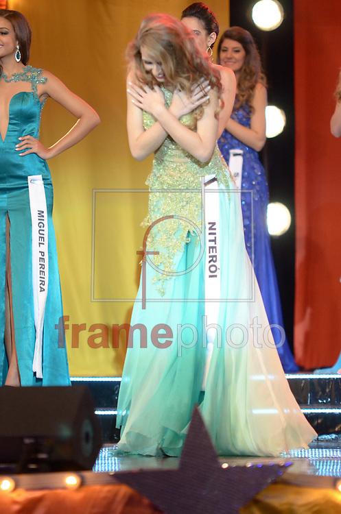 Rio de Janeiro (RJ), 30/08/2014 - Nayara Filipinni, Miss Niterói ficou em quarto lugar. Aconteceu na noite deste sábado (30) na cidade do samba o concurso Miss Universo Rio de Janeiro 2014, entre 18 candidatas que foram selecionadas para a grande final que elege a mulher mais bonita da cidade maravilhosa, desfilando em traje de gala e de banho. A Miss Hosana Elioti, foi eleita a Miss Rio de Janeiro 2014. Foto: ADRIANO ISHIBASHI/FRAME