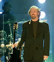 Barry Gibb, The Bee Gees at The BRIT Awards 1997 <br /> Monday 24 Feb 1997.<br /> Earls Court Exhibition Centre, London, England<br /> Photo: JM Enternational