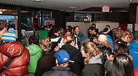 Guests enjoy the Grand Opening of the House of Switzerland in Whistler for the 2010 Olympic Winter Games