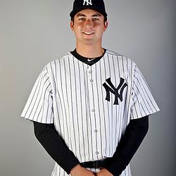 Feb 20, 2013; Tampa, FL, USA; New York Yankees Kyle Higashioka (83) during photo day at Steinbrenner Field. Mandatory Credit: Derick E. Hingle-USA TODAY Sports