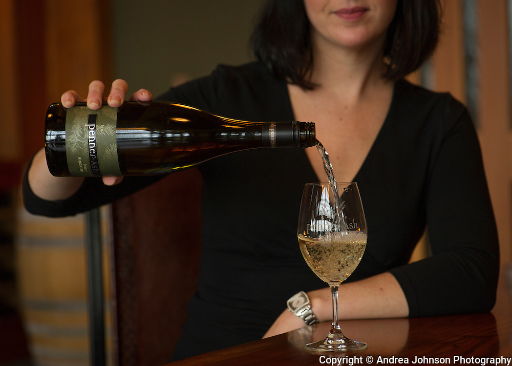Penner-Ash Wine tasting, Willamette Valley, Oregon