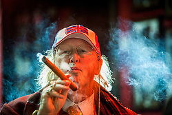 John McCririck, the English television horse racing pundit, speaks to Matt in the Boisdale in Belgravia.<br /> English views on the Scottish Independence feature.<br /> © Michael Schofield.