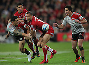 Sonny Bill Williams during the Super Rugby Final at Suncorp Stadium in Brisbane,  July 9, 2011.  Photo: Patrick Hamilton/Photosport