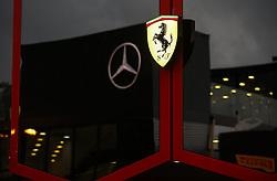 August 31, 2018 - Monza, Italy - Motorsports: FIA Formula One World Championship 2018, Grand Prix of Italy, .Logotype of Scuderia Ferrari  (Credit Image: © Hoch Zwei via ZUMA Wire)