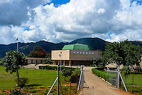 The Parliament in Mbabane, the capital and largest city of Swaziland. The Kingdom of Swaziland in Southern Africa, bordered by South Africa and Mozambique.