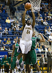 December 28, 2009; Berkeley, CA, USA;  California Golden Bears forward Theo Robertson (24) shoots against the Utah Valley Wolverines during the first half at the Haas Pavilion.  California defeated Utah Valley 85-51.