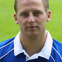 St Johnstone FC photocall season 2001/02<br />Mark McCulloch<br /><br /><br />Picture by Graeme Hart.<br />Copyright Perthshire Picture Agency<br />Tel: 01738 623350  Mobile: 07990 594431