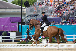Bechtolsheimer Laura (GBR) - Mistral Hojris <br /> Olympic Games London 2012<br /> © Dirk Caremans