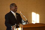 Ohio University President Dr. Roderick J. McDavis at the Black Alumni Reunion Welcome Reception at Baker Center on September 27, 2013.