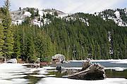 Revette Lake, Thompson Pass, on the Idaho Montana Boarder