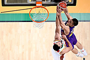 NIKON Z 6 • VR 300mm f/4<br /> f/4.5 • ISO 2500 • 1/800<br /> <br /> Tarczewski Kaleb Erick <br /> A|X Armani Exchange Milano - Umana Reyer Venezia <br /> LBA Final Eight 2020 Zurich Connect - Semifinale<br /> Basket Serie A LBA 2019/2020<br /> Pesaro, Italia - 15 February 2020<br /> Foto Mattia Ozbot / CiamilloCastoria