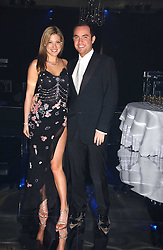 CATHERINE McQUEEN and tv presenter NICK EDE at the Diamonds Are Forever charity ball in aid of the Motor Neurone Disease Association and Cancer Research UK held at The Dorchester, Park Lane, London on 11th March 2006.<br />