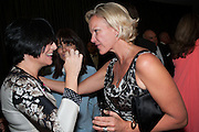 SHARLEEN SPITERI; CLAUDIA WINKLEMAN; ELIZABETH MURDOCH, 2012 GQ Men of the Year Awards,  Royal Opera House. Covent Garden, London.  3 September 2012