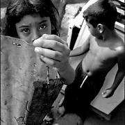 NI—OS DE PORAI - Homenaje a Mariano Diaz.Photography by Aaron Sosa.San Pablo, Estado Anzoategui - Venezuela 2001.(Copyright © Aaron Sosa)