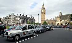 London Taxi Protest 17-7-12