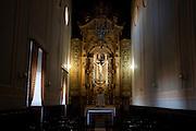 Campanha_MG, Brasil...Imagem de Jesus Cristo em uma catedral em Campanha...Jesus Christ in a cathedral  in Campanha...Foto: LEO DRUMOND / NITRO....