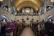 Roma, 29/10/2017: Culto nella chiesa luterana di via Toscana in occasione delle celebrazioni per i 500 anni dalla Riforma Protestante. <br /> &copy; Andrea Sabbadini