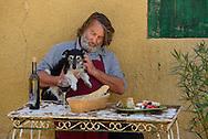 Owner of Le Domaine Saint Jean,St.Saturnin les Apt, Provence,France<br /> Model release 0344