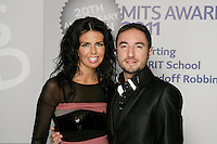 Susan Duddy and Vincent Simone, the 2011 MITs Award. Held at the Grosvenor Hotel London in aid of Nordoff Robbins and the BRIT School. Monday, Nov.7, 2011