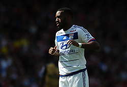 Alexandre Lacazette of Lyon  - Mandatory by-line: Joe Meredith/JMP - 25/07/2015 - SPORT - FOOTBALL - London,England - Emirates Stadium - Arsenal v Lyon - Emirates Cup