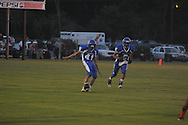 Water Valley's Alex Robles (41) vs. Coffeeville in Coffeeville, Miss. on Friday, August 24, 2012. Water Valley won.
