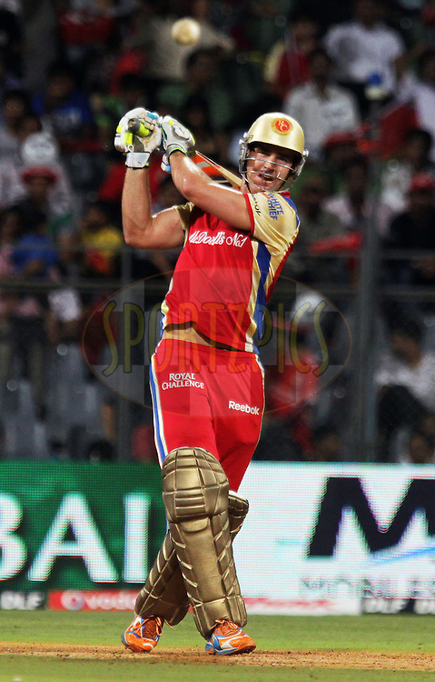 Royal Challengers Bangalore player Luke Pomersbach bats during the Qualifier 1 match of the Indian Premier League ( IPL ) Season 4 between the Royal Challengers Bangalore and the Chennai Super Kings held at the Wankhede Stadium, Mumbai, India on the 24th May 2011..Photo by BCCI/SPORTZPICS.