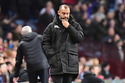 Wolverhampton Wanderers manager Nuno Espirito Santo  looks deep in thought as Villa score their fourth goal during the EFL Sky Bet Championship match between Aston Villa and Wolverhampton Wanderers at Villa Park, Birmingham, England on 10 March 2018. Picture by Dennis Goodwin.