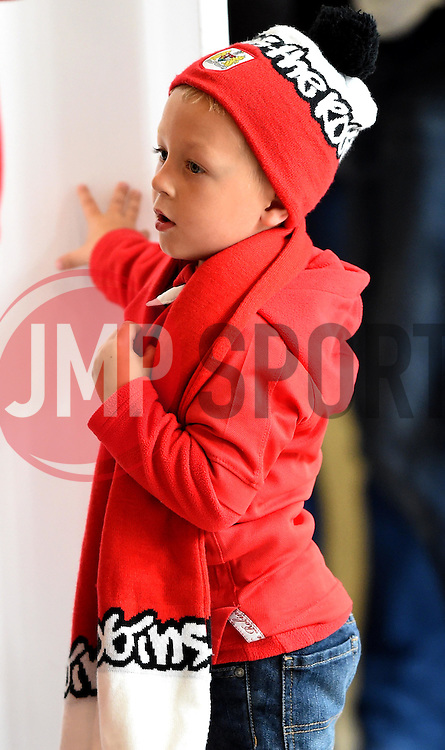 Spectator at the Sky Bet Championship match between Bristol City and Milton Keynes Dons at Ashton Gate Stadium on 3 October 2015 in Bristol, England - Mandatory by-line: Paul Knight/JMP - Mobile: 07966 386802 - 03/10/2015 -  FOOTBALL - Ashton Gate Stadium - Bristol, England -  Bristol City v MK Dons - Sky Bet Championship