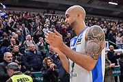 DESCRIZIONE : Eurocup Last 32 Group N Dinamo Banco di Sardegna Sassari - Galatasaray Odeabank Istanbul<br /> GIOCATORE : David Logan<br /> CATEGORIA : Postgame Ritratto Esultanza<br /> SQUADRA : Dinamo Banco di Sardegna Sassari<br /> EVENTO : Eurocup 2015-2016 Last 32<br /> GARA : Dinamo Banco di Sardegna Sassari - Galatasaray Odeabank Istanbul<br /> DATA : 13/01/2016<br /> SPORT : Pallacanestro <br /> AUTORE : Agenzia Ciamillo-Castoria/L.Canu