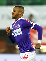 10.02.2018, Ernst Happel Stadion, Wien, AUT, 1. FBL, FK Austria Wien vs Lask, 22. Runde, im Bild Torjubel Felipe Pires (FK Austria Wien) // during Austrian Football Bundesliga Match, 22nd Round, between FK Austria Vienna and Lask at the Ernst Happel Stadion, Vienna, Austria on 2018/02/10. EXPA Pictures © 2018, PhotoCredit: EXPA/ Alexander Forst