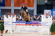 Willem Greve - Forsyth<br /> Finale Blom Hengstencompetitie Springen Klasse M 2015/2016<br /> KWPN Hengstenkeuring 2016<br /> © DigiShots