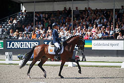 Cornelissen Adelinde, NED, Henkie<br /> Longines FEI/WBFSH World Breeding Dressage Championships for Young Horses - Ermelo 2017<br /> © Hippo Foto - Dirk Caremans<br /> 06/08/2017