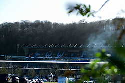 A general view of Adam's Park  prior to kick off - Mandatory by-line: Ryan Hiscott/JMP - 08/02/2020 - FOOTBALL - Adam's Park - High Wycombe, England - Wycombe Wanderers v Bristol Rovers - Sky Bet League One