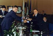 Incontro con D'Alema 1999<br /> bogdan tanjevic, giovanni petrucci