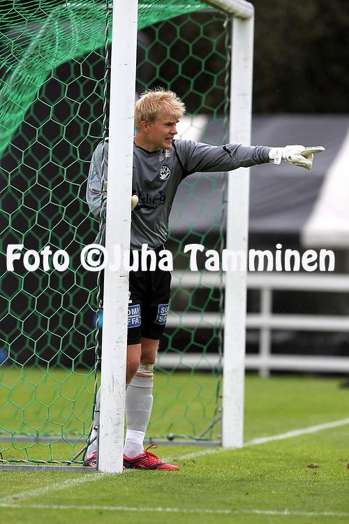 24.07.2010, Tehtaankentt?, Valkeakoski..Veikkausliiga 2010, FC Haka - FC HJK Helsinki..Saku Pesonen - Haka.©Juha Tamminen.