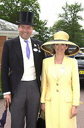 The HON.HARRY & MRS HERBERT, he is the son of the<br />  Earl of Carnarvon, at Royal Ascot on 21st June 2000.OFP 57<br /> © Desmond O'Neill Features:- 020 8971 9600<br />    10 Victoria Mews, London.  SW18 3PY <br /> www.donfeatures.com   photos@donfeatures.com<br /> MINIMUM REPRODUCTION FEE AS AGREED.<br /> PHOTOGRAPH BY DOMINIC O'NEILL