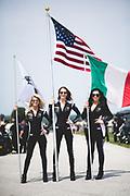 August 3-5 2018: Lamborghini Super Trofeo Road America. Lamborghini grid girls