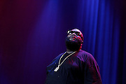 LOS ANGELES, CA - JANUARY 13:  Rick Ross performs live at Nokia Theatre L.A. Live on January 13, 2012 in Los Angeles, California.  (Photo by Joe Kohen/Getty Images)